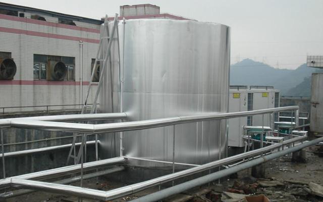 顺德陈村印刷厂宿舍热水工程