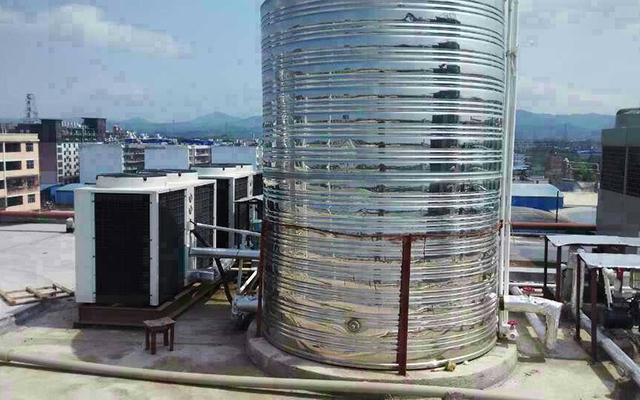 顺德北滘足缘养生会所热水工程