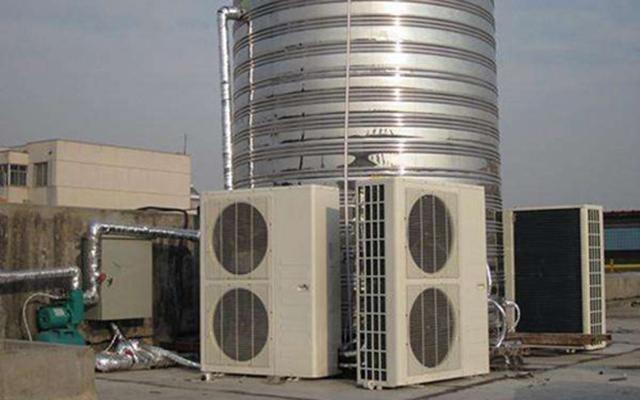 珠海天鹅城沐足城热水工程
