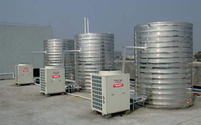 珠海泰美沐足城热水工程