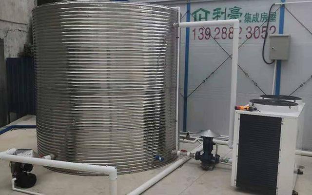 广州南沙楼盘工地热水工程