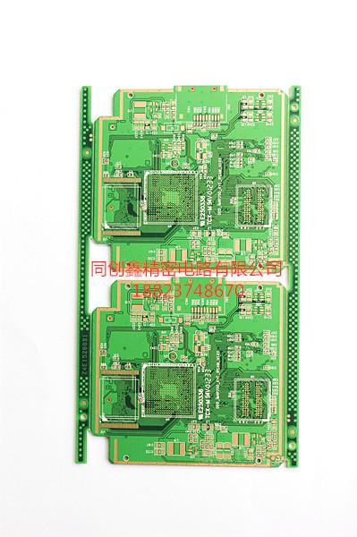 2层显示与控制PCB