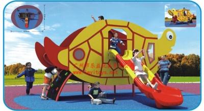 17-08E 乌龟滑梯 slide