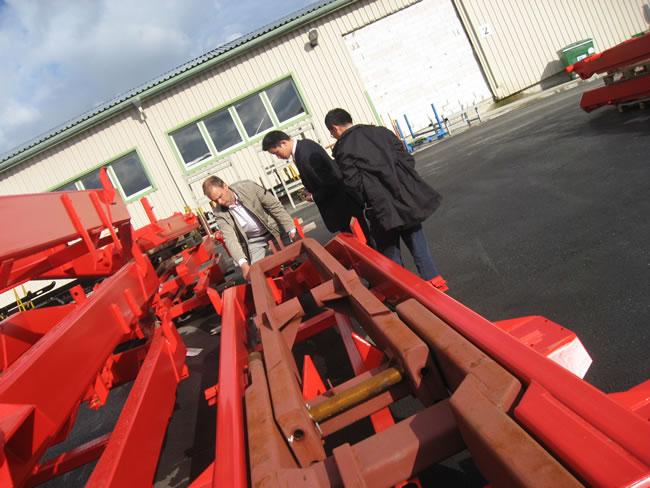 我公司受邀拜访爱沙尼亚的工厂