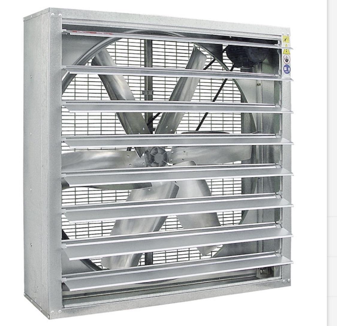 食品类加工厂通风降温设备
