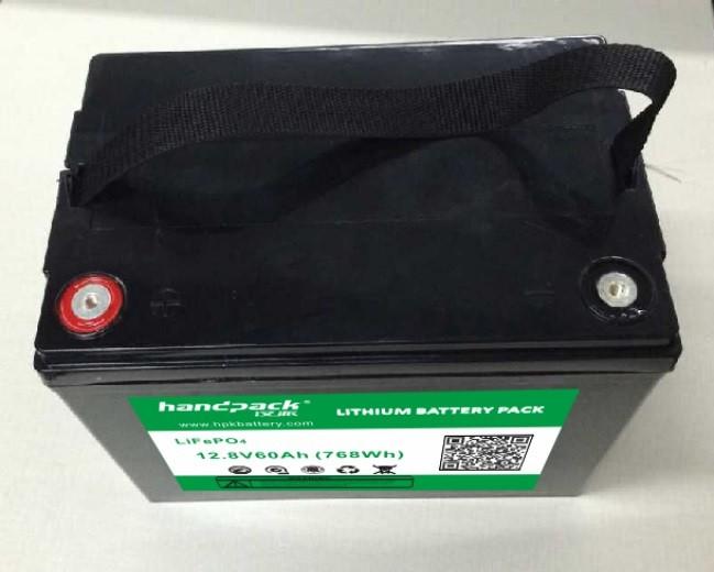12V 60Ah LiFePO4 batteries