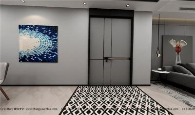 客厅装修效果图-欧式古典风格