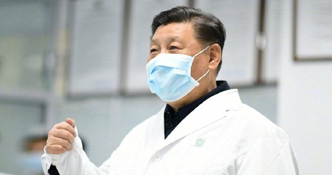 习近平考察北京地坛医院和朝阳区疾控中心
