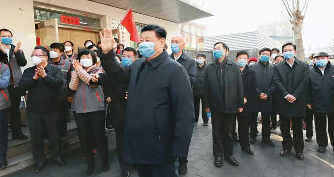 习近平:在政治局常委会研究应对新冠肺炎疫情工作