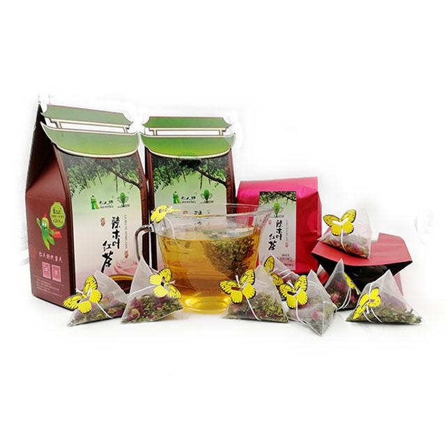 仁人好辣木叶红茶 天然草本绿色健康厂家直销玫瑰红茶包邮