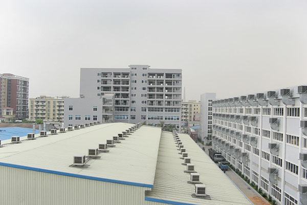 建材机械厂车间降温解决方案-广东科达洁能案例