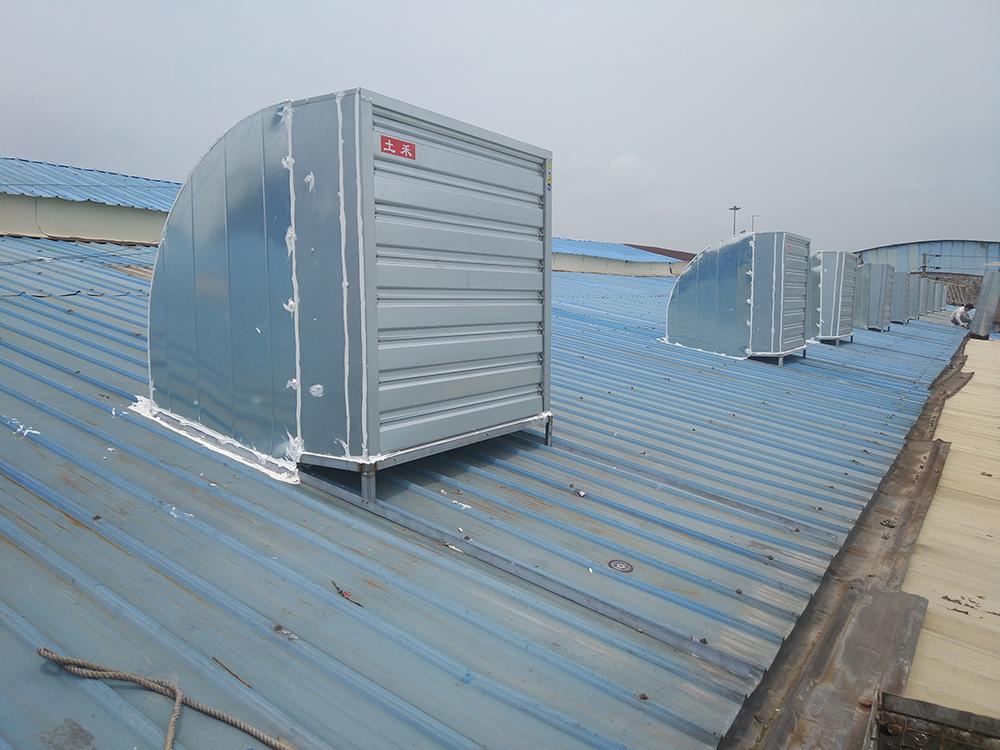 钢结构厂房屋顶通风降温解决方案