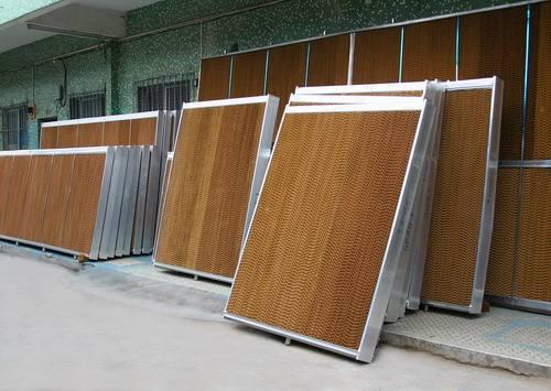 铝合金水帘(湿帘)墙