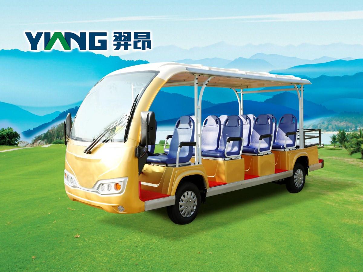 11座电动观光车(带货箱)-THB11-1