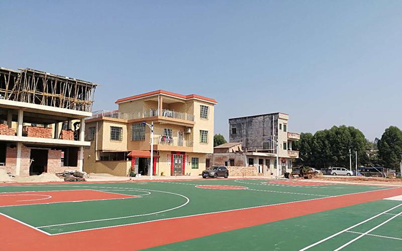 城中村大型文体灯光丙烯酸球场项目