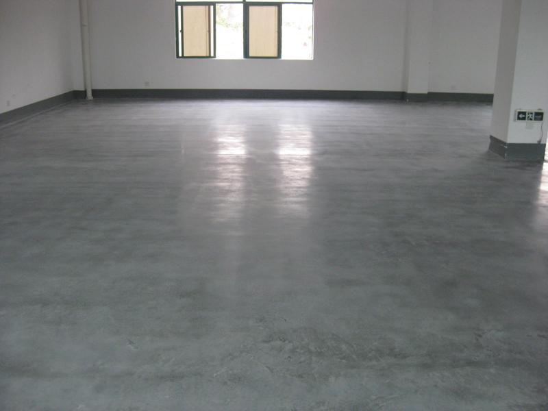 金刚砂地坪需要做渗透硬化处理吗?