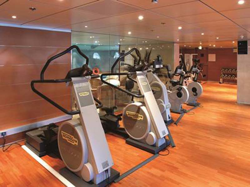 健身房专用运动pvc地板施工案例展示,运...