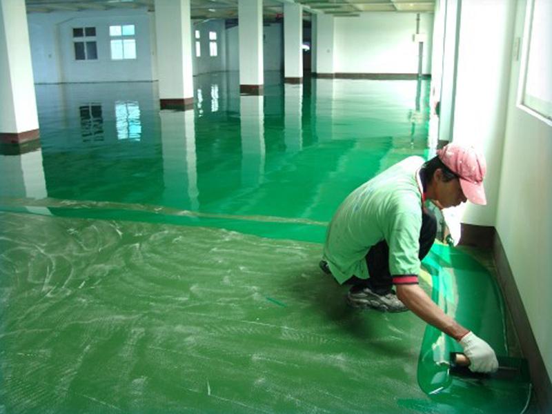 地坪漆施工如何更好的设计施工方案