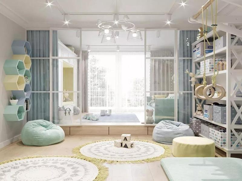 家庭装修,先贴墙纸还是先做地板装修?