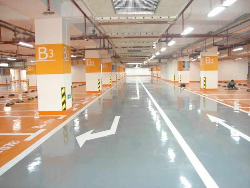 地下車庫地坪漆施工應該注意什么,才能夠保證車庫的質量呢?