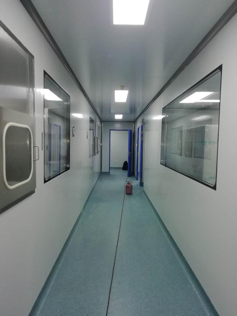 生物实验室PVC地板装修案例