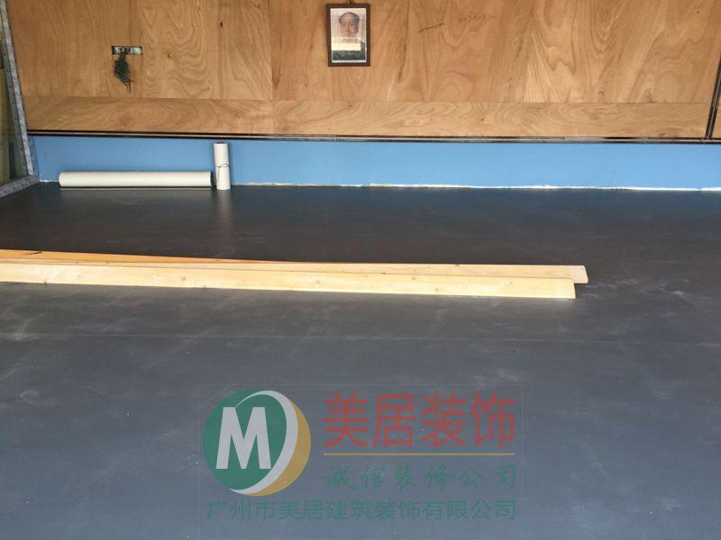 广州健身房4.5钻石纹运动地胶施工图组-...