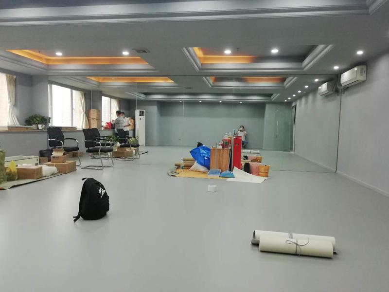广州舞尊PVC舞蹈地板安装施工图组-美居...