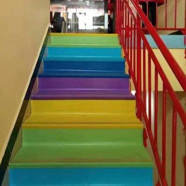 楼梯踏步pvc地板_pvc地板厂家直营批发供应