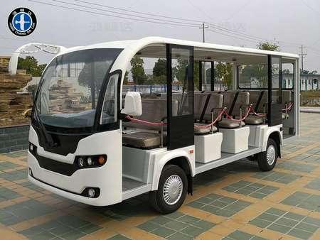 广东鸿畅达电动车辆有限公司于2018年10月推出2019款14座电动观光车,