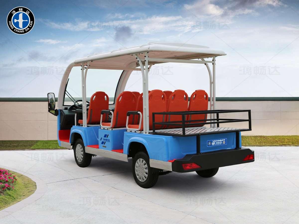 8座电动观光车(带货箱)-THB8-1