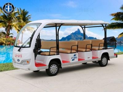 11座电动观光车(带货箱)-THB8-1