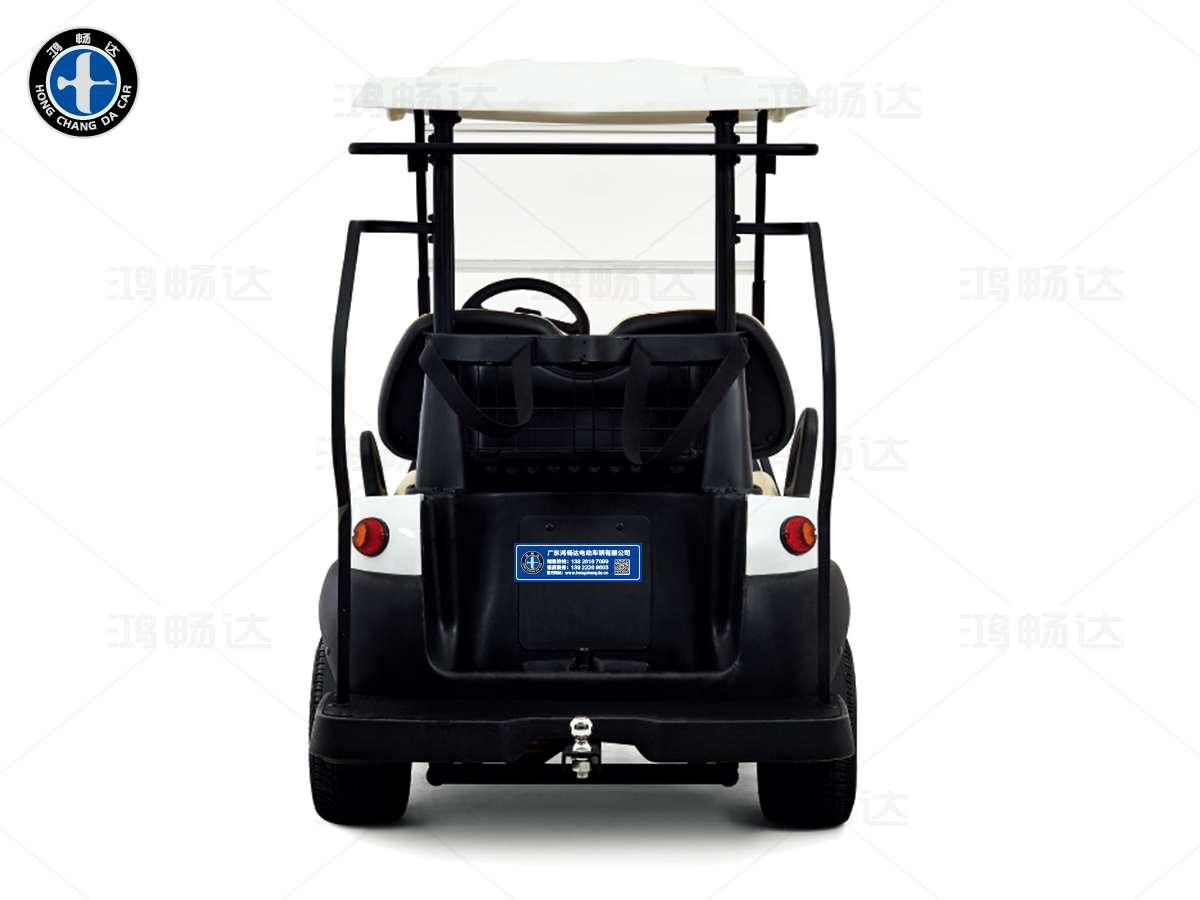 2座高尔夫观光车
