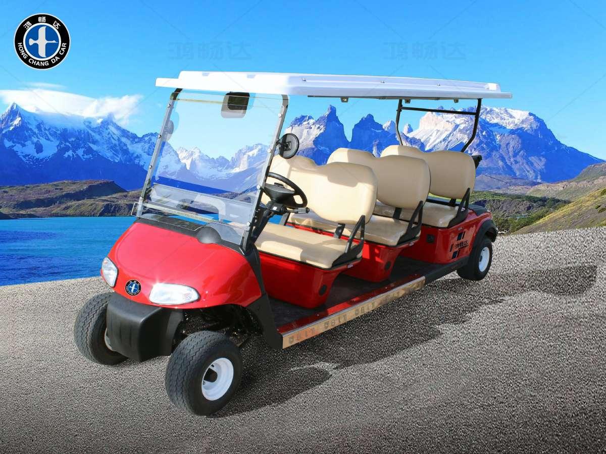 6座高尔夫观光车-GM6
