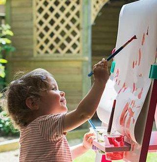 少儿美术课程 - 桔子树艺术教育培训