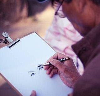 综合速写课程 -  桔子树艺术教育培训