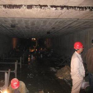 输煤隧道堵漏