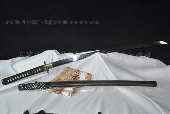鬼武士打刀-精炼钢烧刃