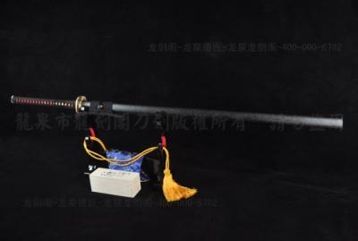 春良忍者刀-1095钢烧刃