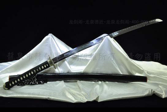 桦山久高武士刀-百炼钢烧刃