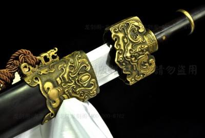 仿古越王剑-百炼花纹钢