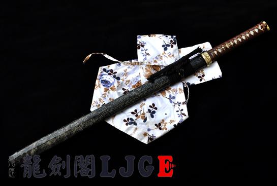 魅菊忍者刀-T10烧刃