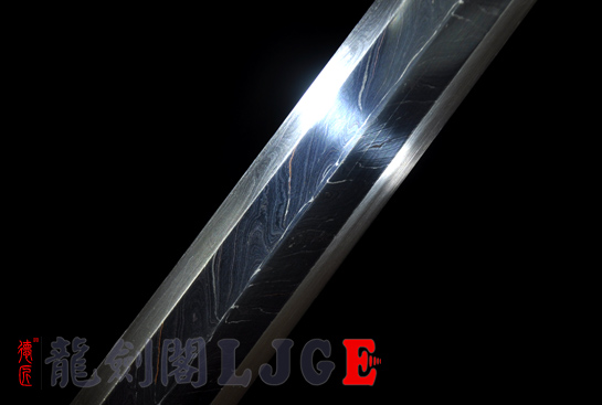 牛角装八面汉剑-羽毛钢
