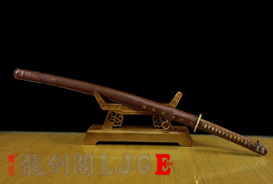 98式铁鞘军刀-百炼钢烧刃