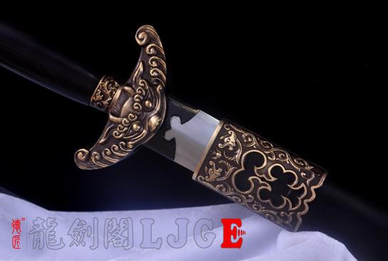 乾隆佩剑-百炼钢烧刃