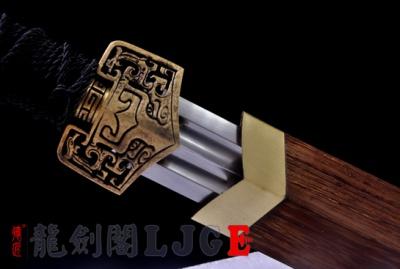 仿古铜装八面汉剑-锰钢