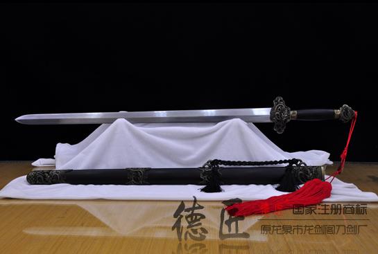 镂空云龙剑-花纹钢