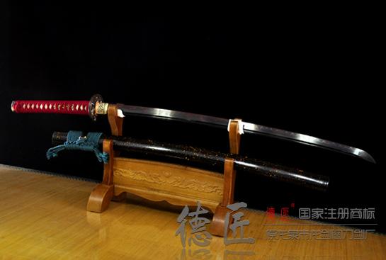 骑士血刃打刀-T10钢烧刃