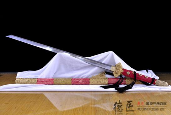 新唐草豪华唐刀-夹钢(三枚合)