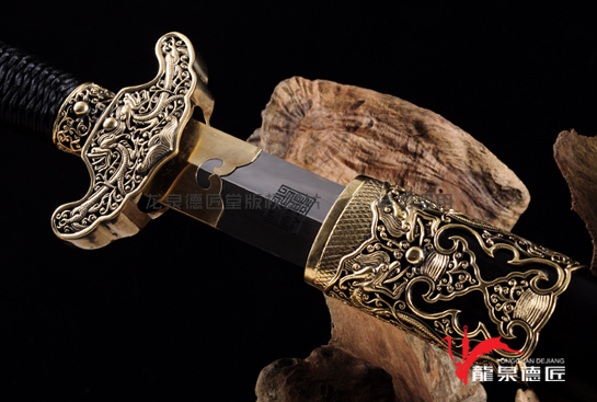 专利作品·高级别职官佩剑-弹性百炼钢