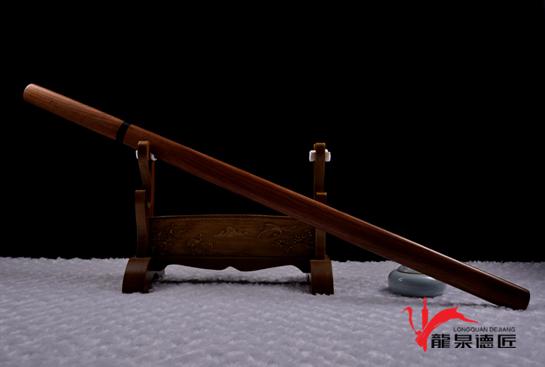 酸枝素剑-百炼钢烧刃